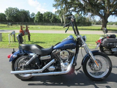 2012 Harley-Davidson Dyna Super Glide® Custom Blue photo