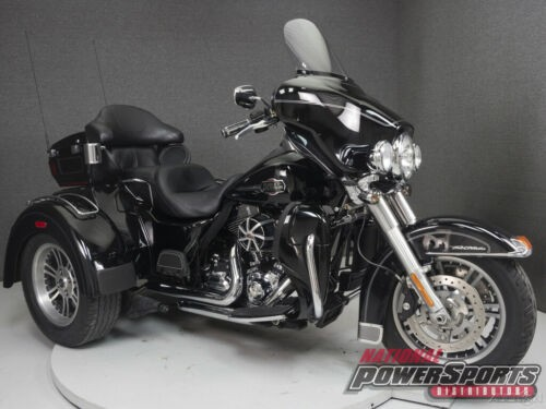2012 Harley-Davidson FLHTCUTG TRIGLIDE ULTRA CLASSIC Black photo