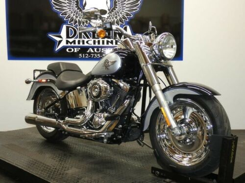 2012 Harley-Davidson FLSTF - Softail Fat Boy -- Silver photo