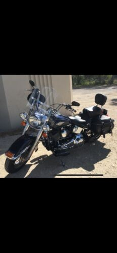 2012 Harley-Davidson Softail Blue photo