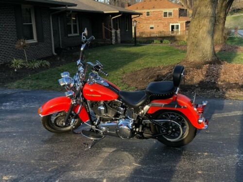 2012 Harley-Davidson Softail Orange photo
