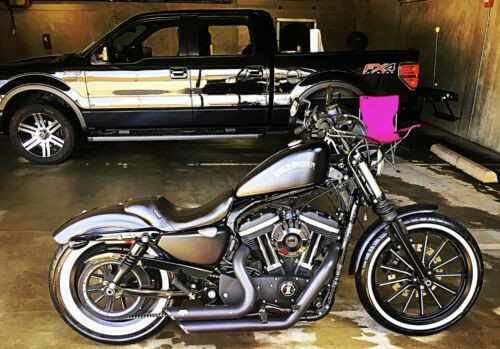 2012 Harley-Davidson Sportster Black photo