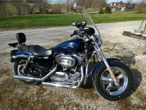 2012 Harley-Davidson Sportster Blue photo