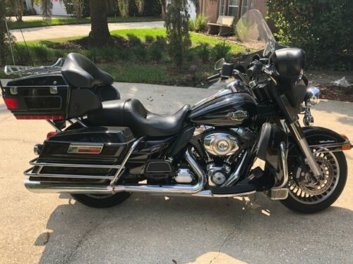 2012 Harley-Davidson Touring Black photo