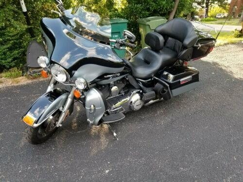 2012 Harley-Davidson Touring Blue photo
