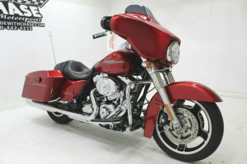 2012 Harley-Davidson Touring DARK CHERRY RED photo