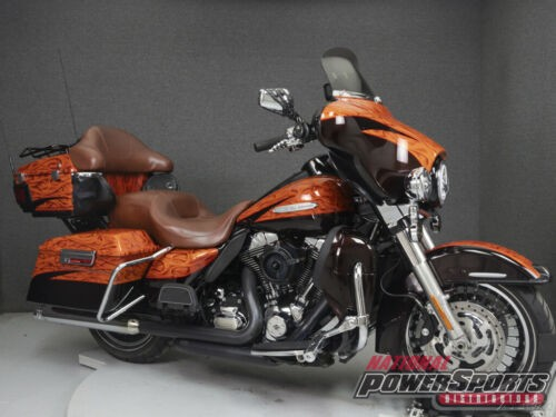 2012 Harley-Davidson Touring FLHTK ELECTRA GLIDE ULTRA LIMITED WABS ORANGE/BLACK photo