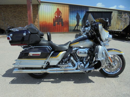 2012 Harley-Davidson Touring SILVER BLUE GOLD photo
