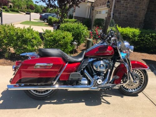 2012 Harley-Davidson Touring Two Tone Ember Red Sunglow/Merlot for sale