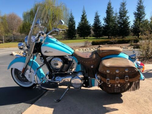 2012 Indian Chief Teal photo