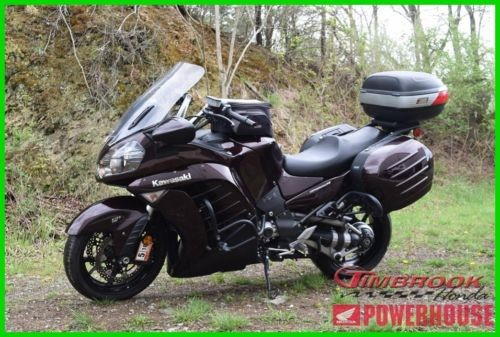 2012 Kawasaki Concours 14 ABS Red photo