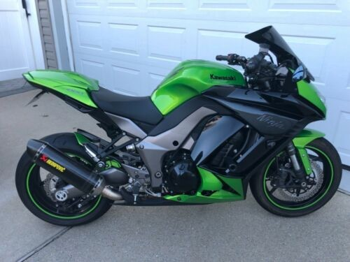 2012 Kawasaki Ninja Green photo