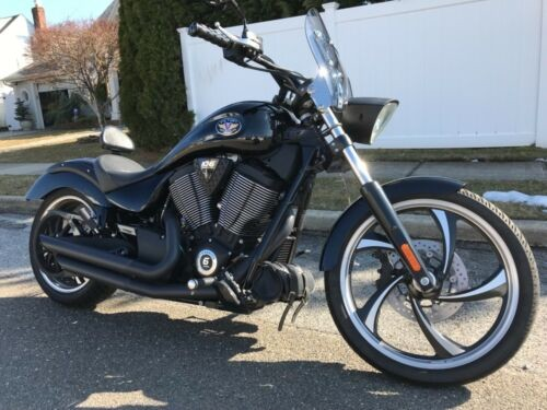2012 Victory Vegas 8 ball Black photo
