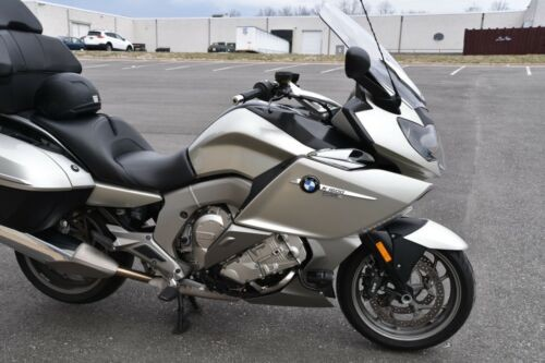 2013 BMW K-Series K1600GTL Low Mileage One Owner Loaded Silver Silver photo