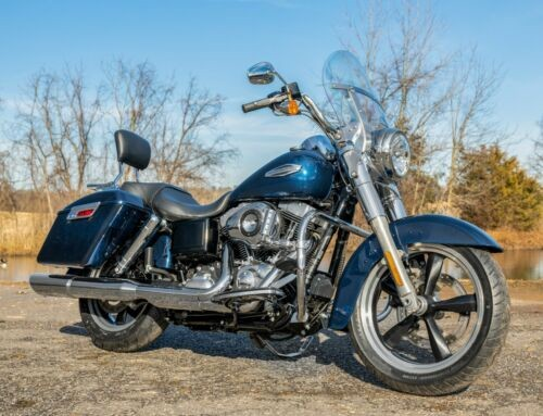 2013 Harley-Davidson Dyna Big Blue Pearl photo