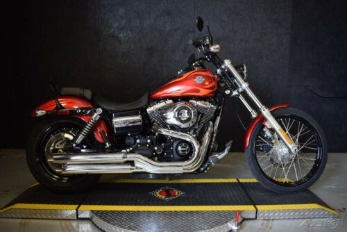 2013 Harley-Davidson Dyna FXDWG - Wide Glide EMBER RED FLAME photo