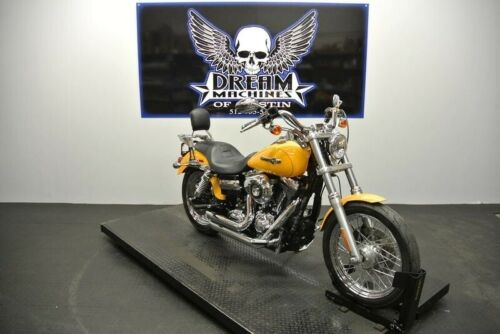 2013 Harley-Davidson FXDC – Dyna Super Glide Custom — Yellow for sale