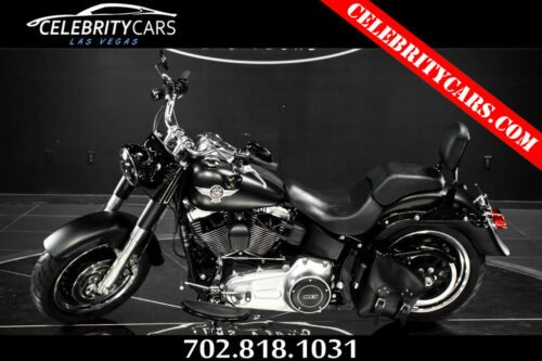 2013 Harley-Davidson Softail Softail Fat Boy Black photo