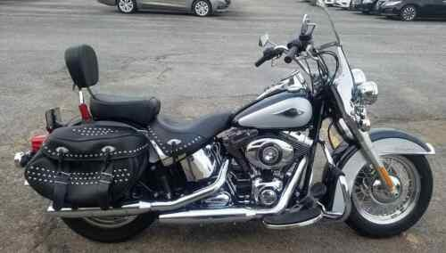 2013 Harley-Davidson Softail Silver photo