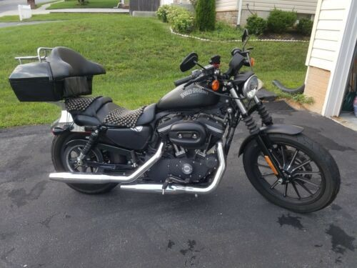 2013 Harley-Davidson Sportster Black Matte photo