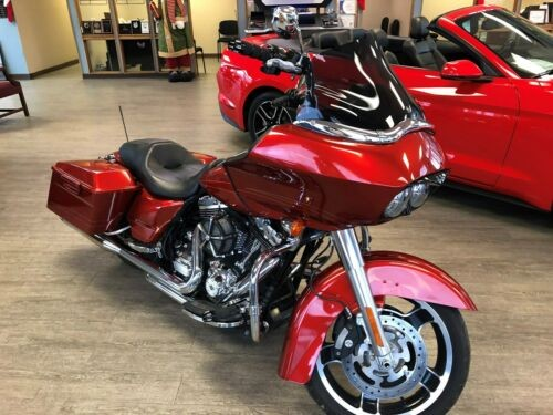 2013 Harley-Davidson Touring Orange photo