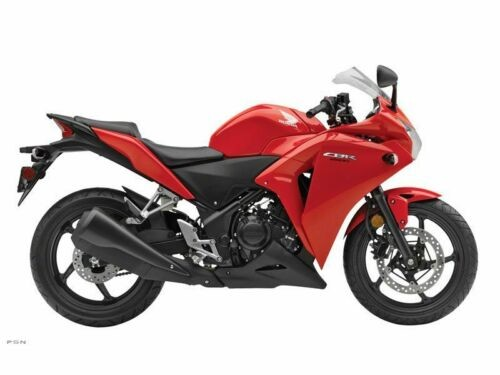 2013 Honda CBR -- Red photo