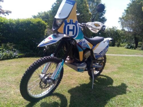 2013 Husqvarna TE511 Motor-Endurance White, blue for sale