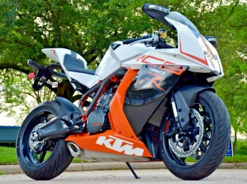2013 KTM RC8 R white photo