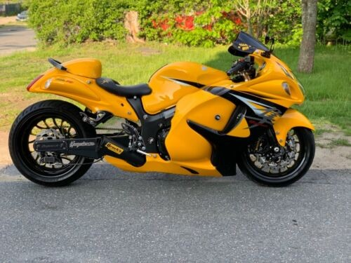 2013 Suzuki Hayabusa Yellow photo