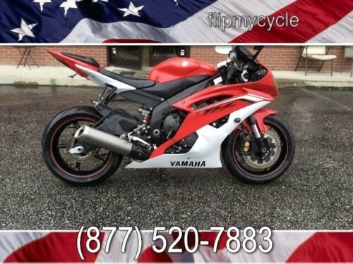 2013 Yamaha YZF R6 Team Yamaha -- Red for sale craigslist