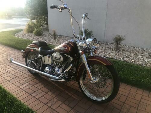 2014 Harley-Davidson Softail Crimson Red Sunglo with Ruby Flake, photo