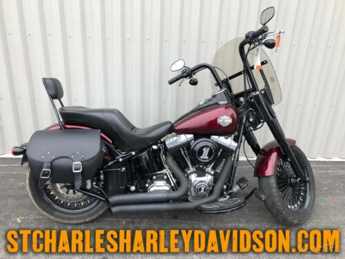 2014 Harley-Davidson Softail FLS - Slim Mysterious Red Sunglo photo