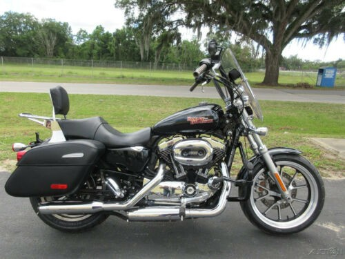2014 Harley-Davidson Sportster 1200 Custom Black photo