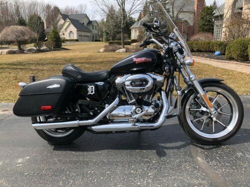 2014 Harley-Davidson Sportster Black photo
