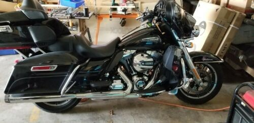 2014 Harley-Davidson Touring Black photo