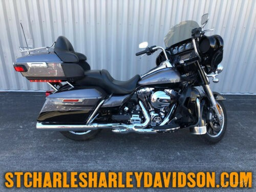 2014 Harley-Davidson Touring FLHTK - Electra Glide Ultra Limited Charcoal Pearl/Blk photo