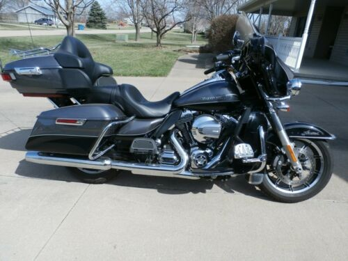 2014 Harley-Davidson Touring Dark Grey / Black photo