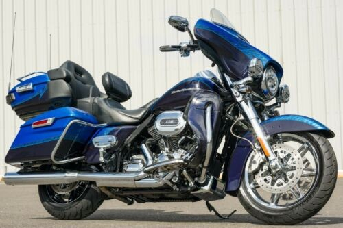 2014 Harley-Davidson Touring Jupiter Blue and Wicked Sapphire with Dragontail photo