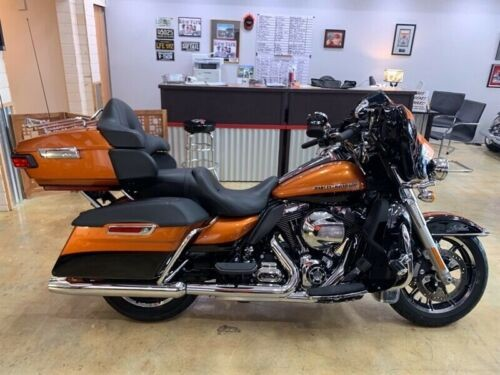 2014 Harley-Davidson Touring FLHTK ULTRA LIMITED Orange photo