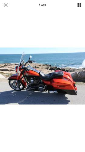 2014 Harley-Davidson Touring Orange photo