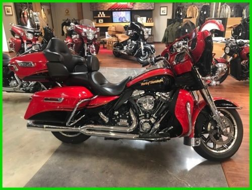 2014 Harley-Davidson Touring Electra Glide® Ultra Classic® Red/Black/Gold photo