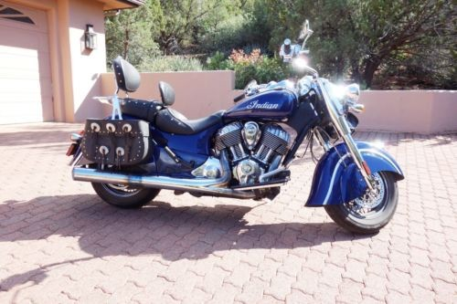 2014 Indian Chief Classic Blue photo