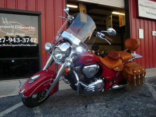 2014 Indian Chief Vintage Red photo