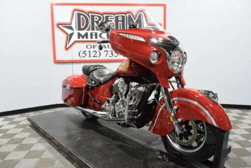 2014 Indian Chieftain -- Red photo