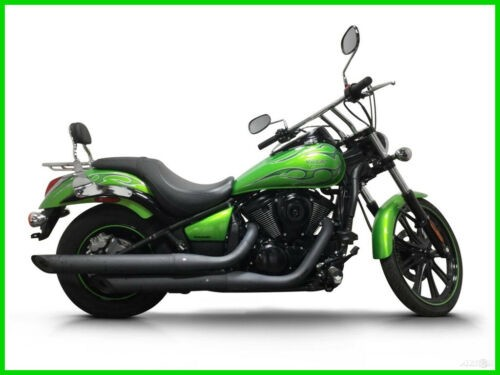 2014 Kawasaki Vulcan CALL (877) 8-RUMBLE Green photo