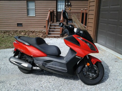 2014 Kymco Downtown Orange photo