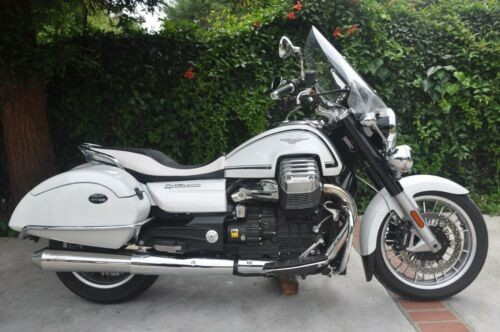 2014 Moto Guzzi California White photo