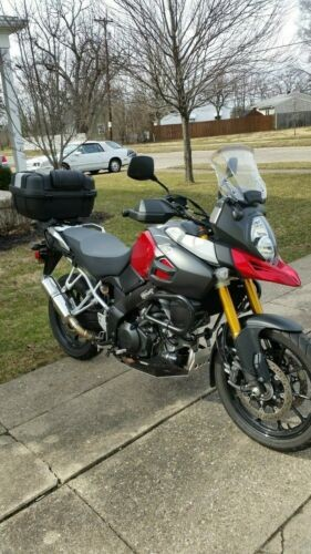 2014 Suzuki DL1000 Vstrom Red for sale