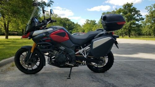 2014 Suzuki V STROM 1000 Red photo