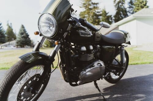 2014 Triumph Thruxton Green photo